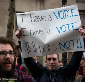 Money Out, Voters In