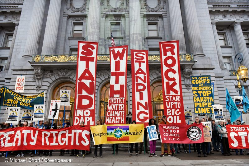 Dakota Access Pipeline Day of Action San Francisco