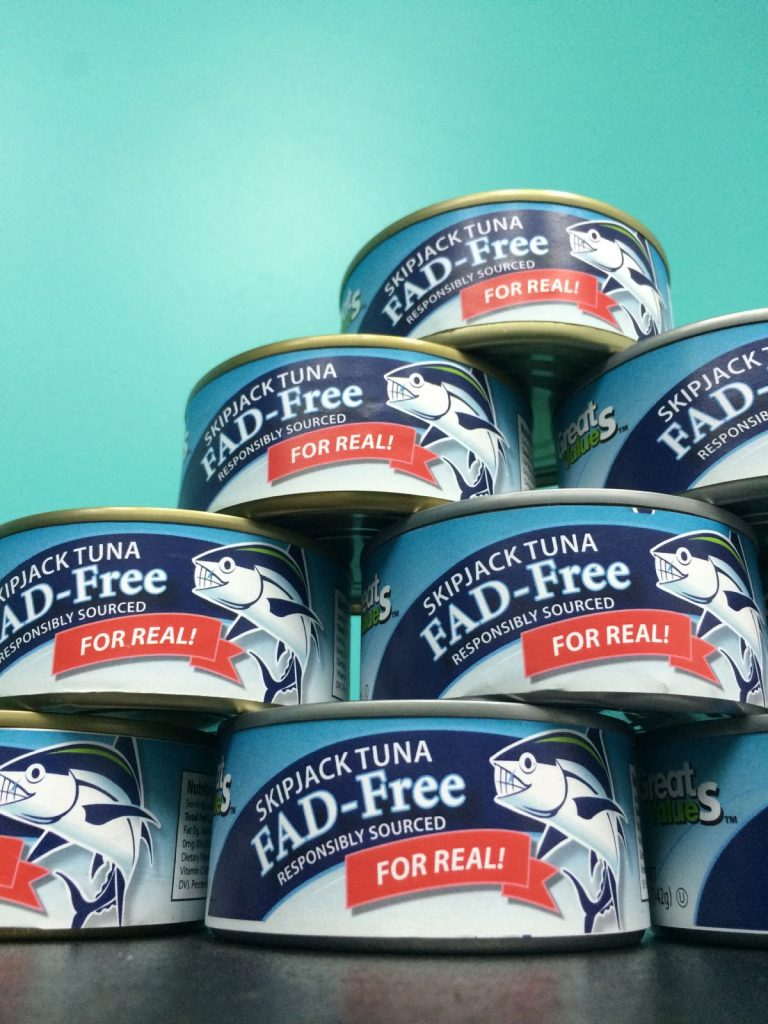 Great ValueS spoof canned tuna. The product over 80,000 consumers want to see Walmart commit to.