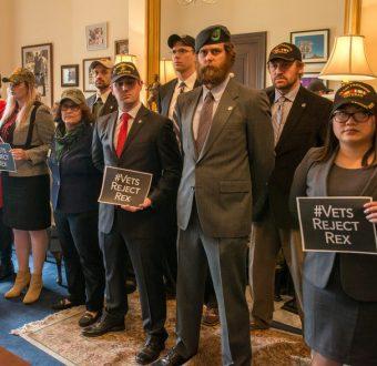 Veterans Opposition To Tillerson