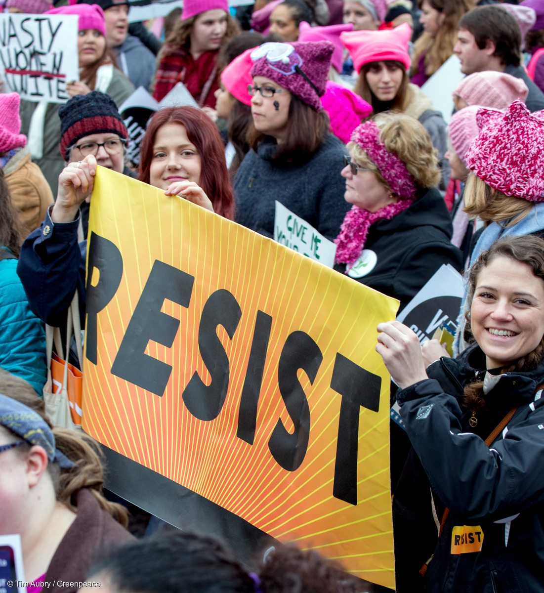 Nearly half a million people gathered in Washington, D.C. to mount a roaring response to the inauguration of U.S. President Donald Trump a day earlier. Millions of women around the world marched in a historic rebuke of a new president packing cities from Los Angeles to London, Paris and Melbourne.