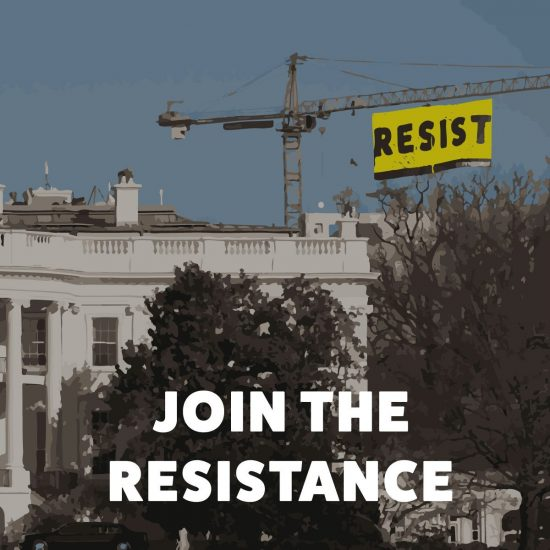 Downloadable Join The Resistance Graphic