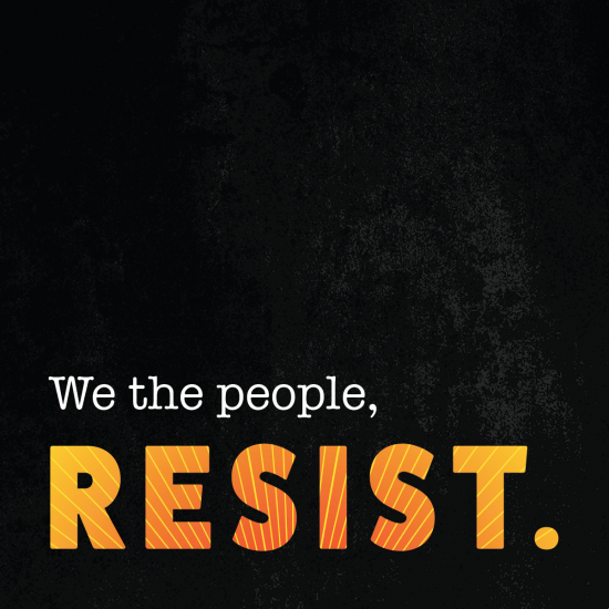 Downloadable We The People Resist Graphic