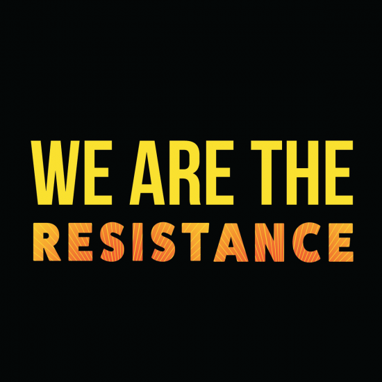 Downloadable We Are The Resistance Graphic
