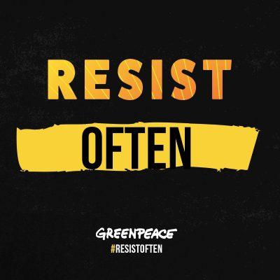 Downloadable Resist Often Graphic