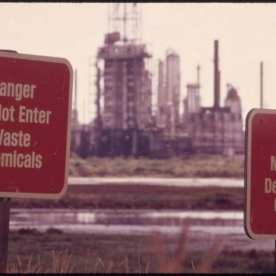 Corpus Christi, Texas Chemical Plant, November 1972