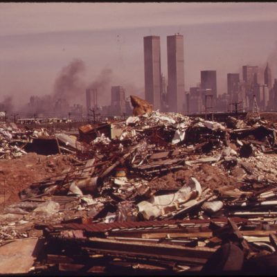 Illegal Dumping Area Off the New Jersey Turnpike, Facing Manhattan Across the Hudson River, March 1973