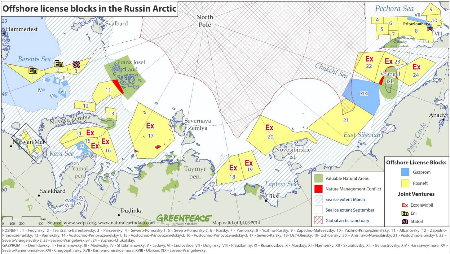 What Russian Sanctions Have to Do With Arctic Drilling In 5 Steps