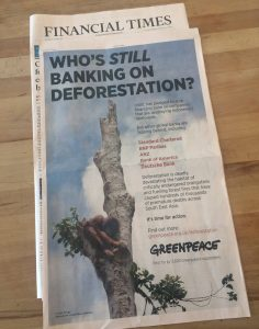 Financial Times Greenpeace