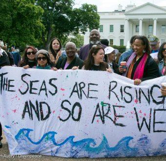 Break Free Action in Washington D.C.