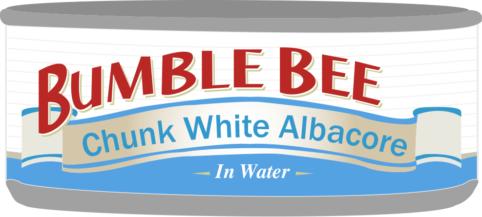 Bumble Bee Tuna Can