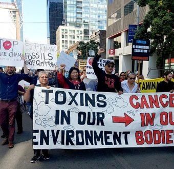 Environmental Justice Rally at EPA Office