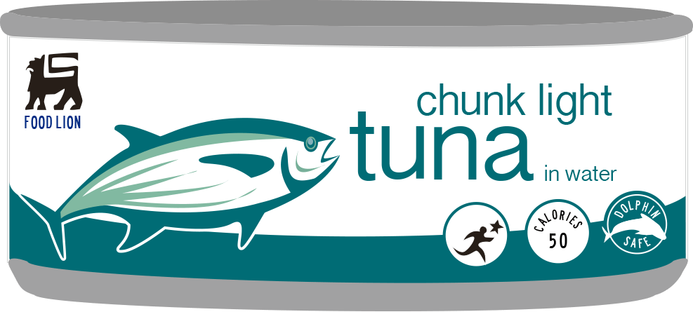 Ahold Delhaize Food Lion Tuna Can