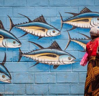 Tuna Mural in Madagascar