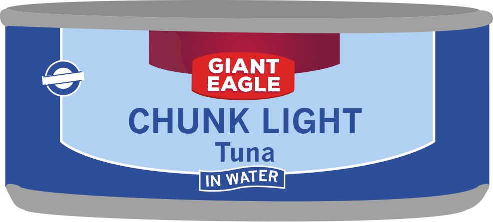 Giant Eagle Tuna Can
