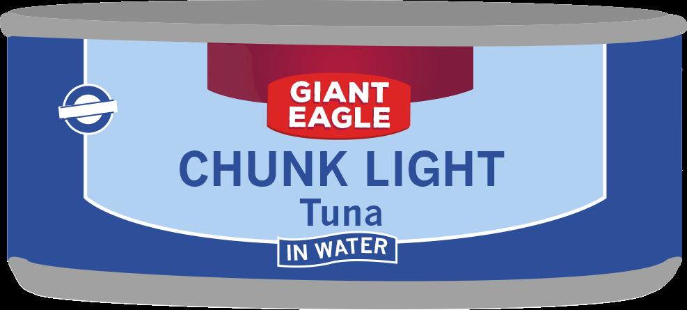 Giant Eagle Tuna Can