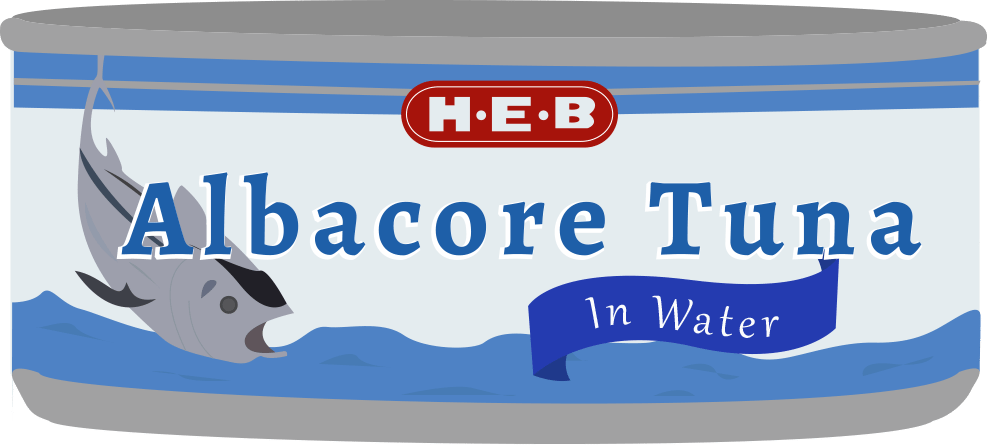 H‑E‑B Tuna Can