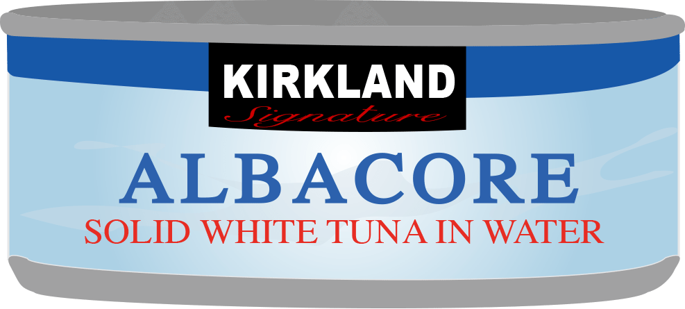 Costco Kirkland Signature Tuna Can