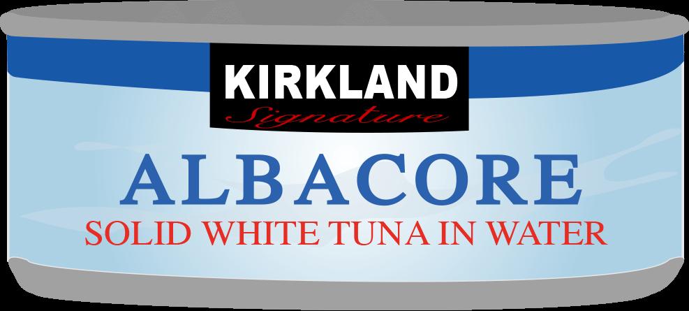 Costco Kirkland Signature Tuna Can