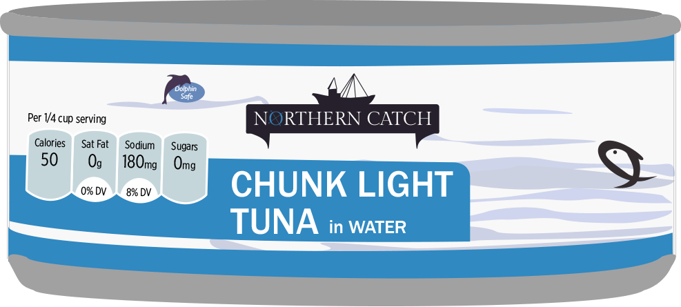 ALDI Northern Catch Tuna Can