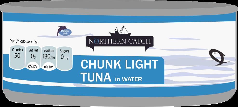 ALDI Northern Catch Tuna Can