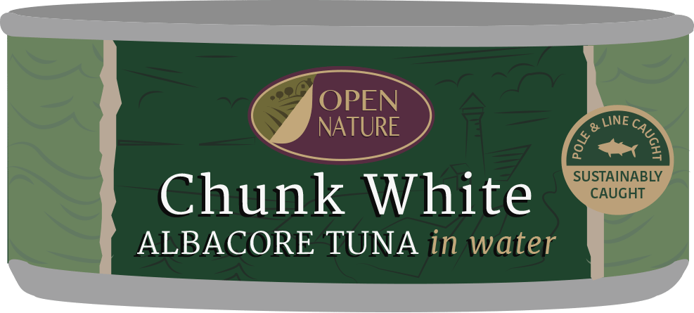 Albertsons Open Nature Tuna Can