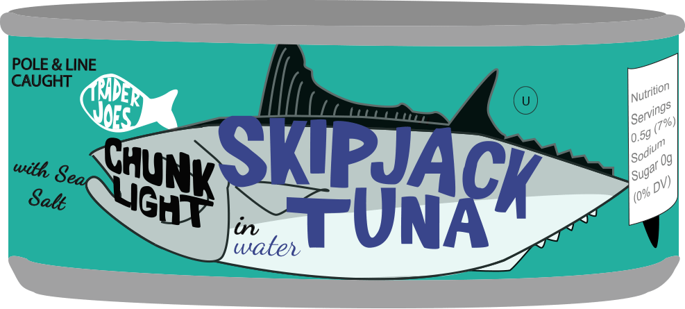 Trader Joe's Tuna Can