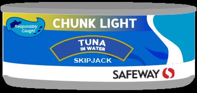 Safeway Tuna Can