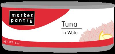 Target Tuna Can