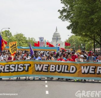 Peoples Climate March DC 2017