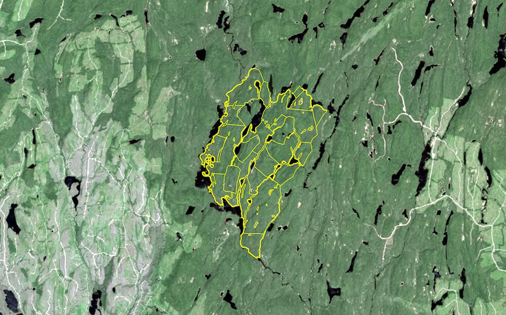 Satellite image of Tremblay location - 2013