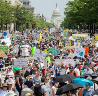 People's Climate March in Washington D.C.