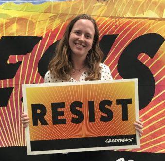 Nathalie Arfvidson, Greenpeace USA