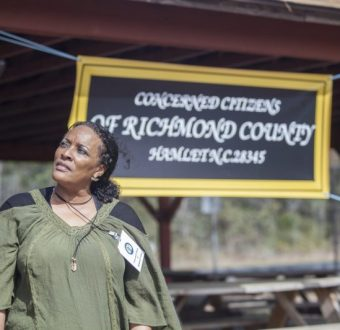 Kim McCall, Secretary, Concerned Citizens of Richmond County
