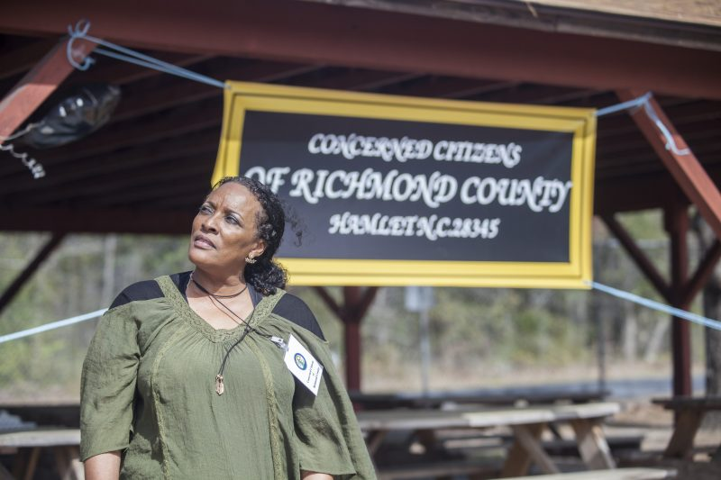 Kim McCall, Secretary, Concerned Citizens of Richmond County