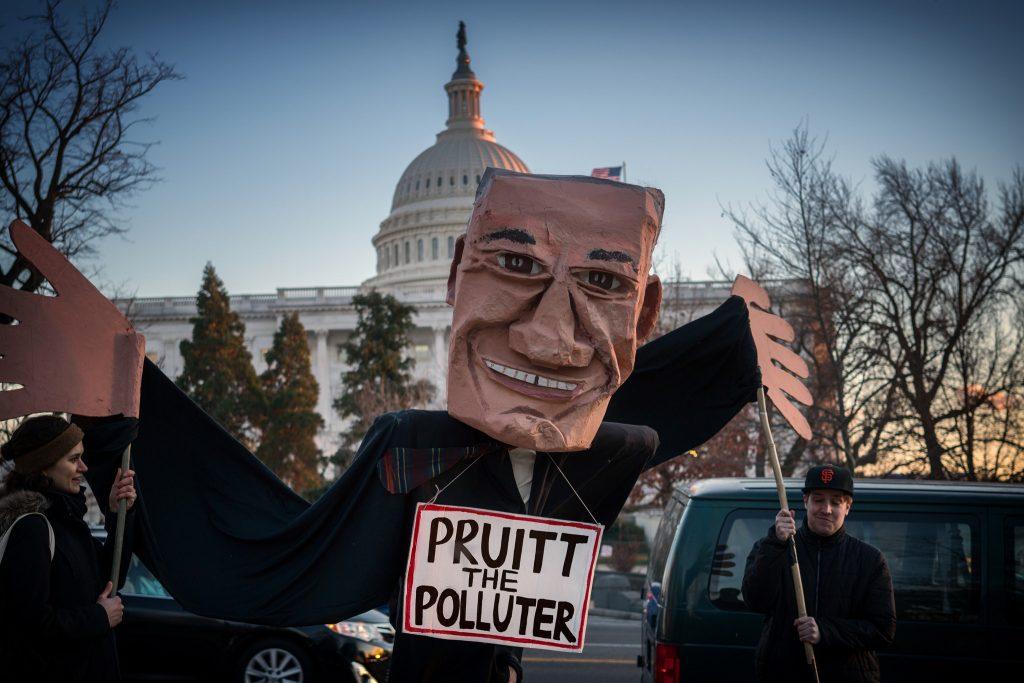 Trump's EPA Administrator Scott Pruitt