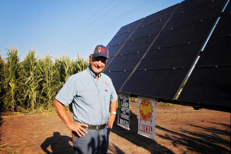 Nebraskans Building Solar to Block KXL