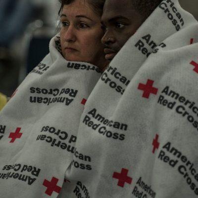 Hurricane Harvey Emergency Shelter in Houston
