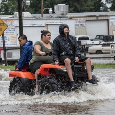 Flooding Continues after Hurricane Harvey in Houston