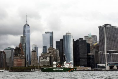 Arctic Sunrise Arrives In The United States 2017