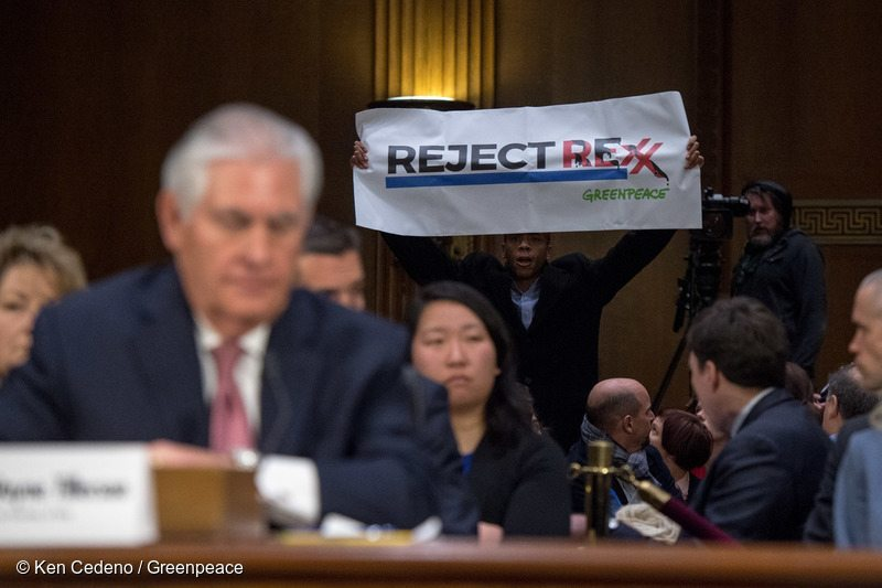"Greenpeace: ""Donald Trump has now somehow picked someone even worse than Rex Tillerson to run the State Department"""