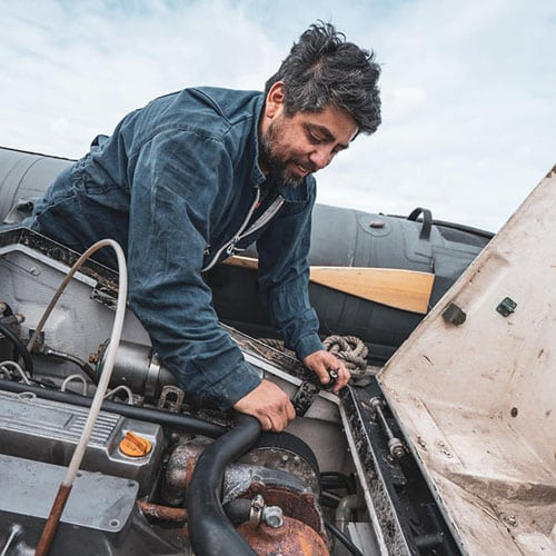 Andres Soto S. - Boat mechanic