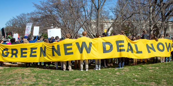 4. Which candidate HAS NOT supported the Green New Deal?