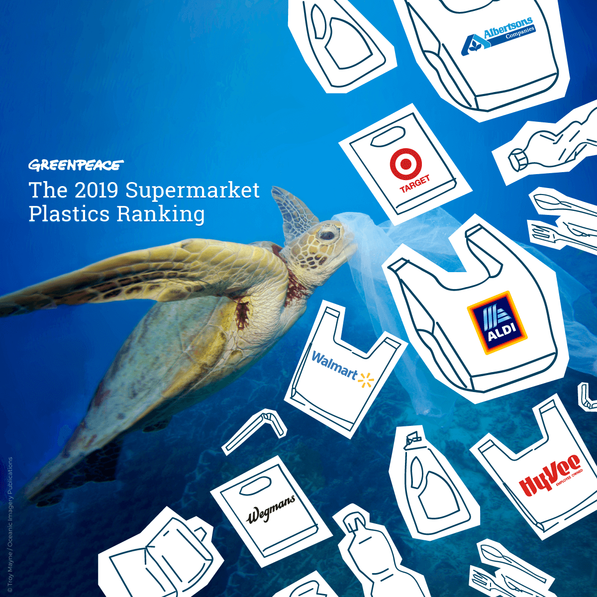Shopping for Plastic: The 2019 Supermarket Plastics Ranking