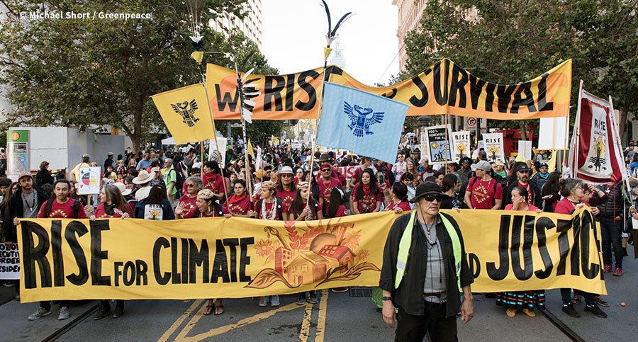 Rise for Climate, Jobs & Justice March in San Francisco