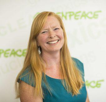 Headshot photo of Janet Redman of Greenpeace USA.