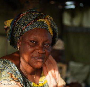 Fatou Samba in Bargny