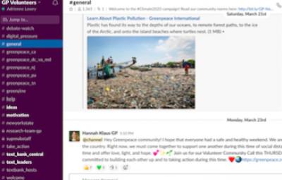 Join Slack - view online