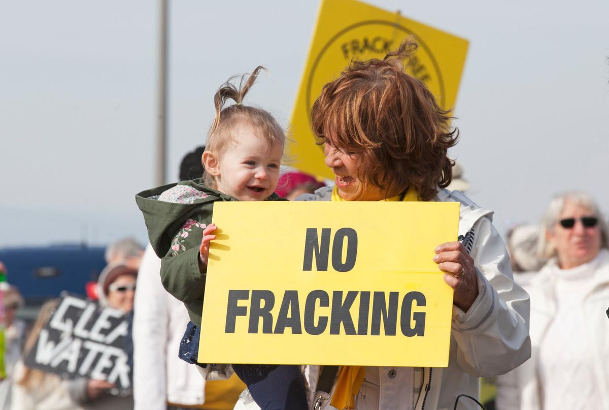 Women's Anti-Fracking March