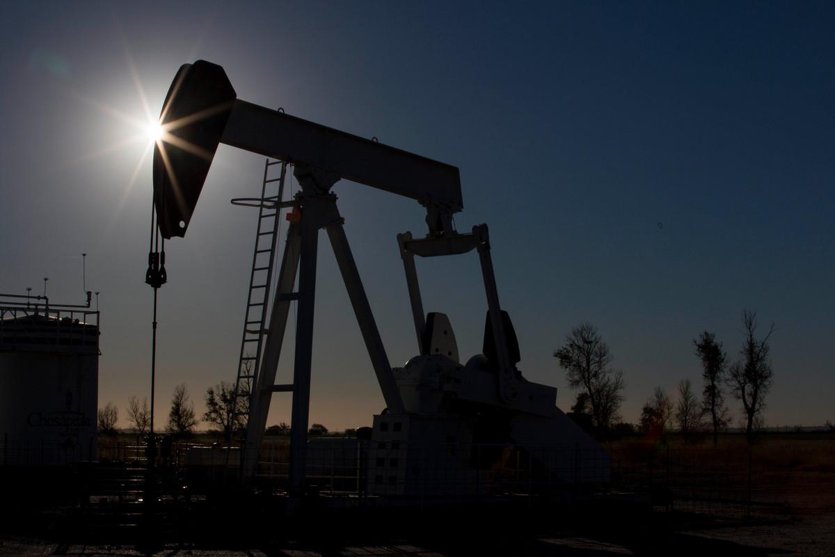 Fracking Pumpjack in Colorado